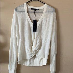 Veronica Beard Soren linen sweater